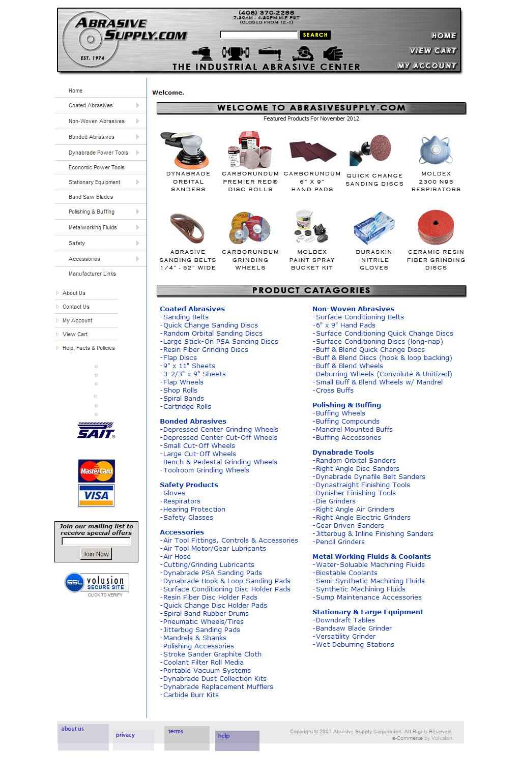 Abrasive Supply - Abrasive Sanding Discs, Sandpaper Belts, Abrasive Supplies for Sanding and Grinding, Dynabrade Air Tools & industrial Shop Supplies.