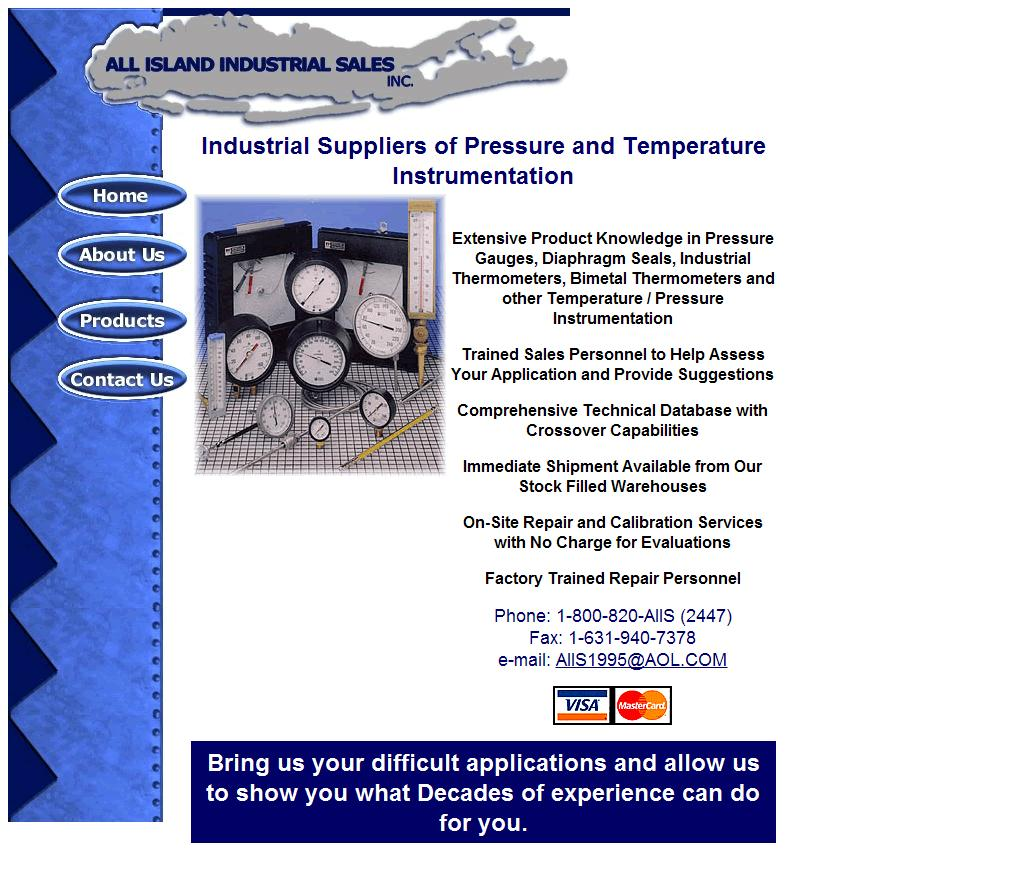 Pressure gauges, industrial thermometers and diaphragm seals distributed.
