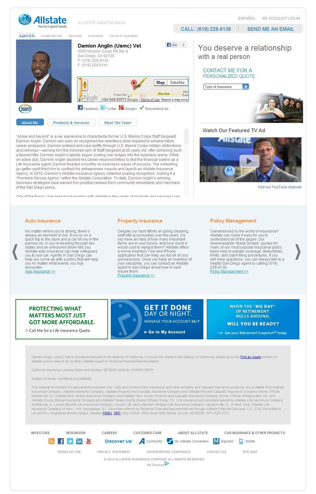 allstate insurance company case study