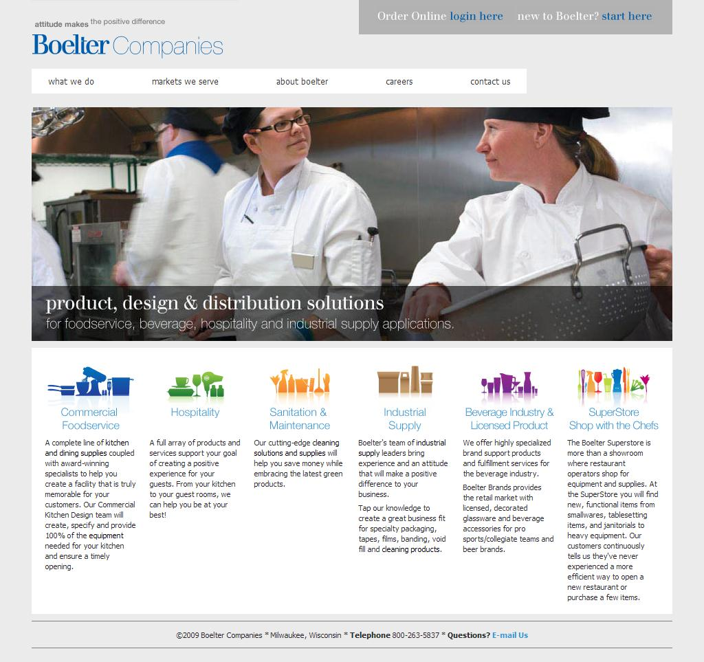 The Boelter Companies - Product, design & distribution solutions for foodservice, beverage, hospitality and industrial supply applications.