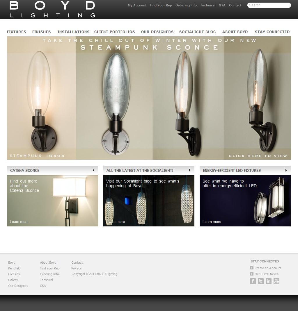 Boyd Lighting | Lighting Fixtures for Architects and Interior Designers