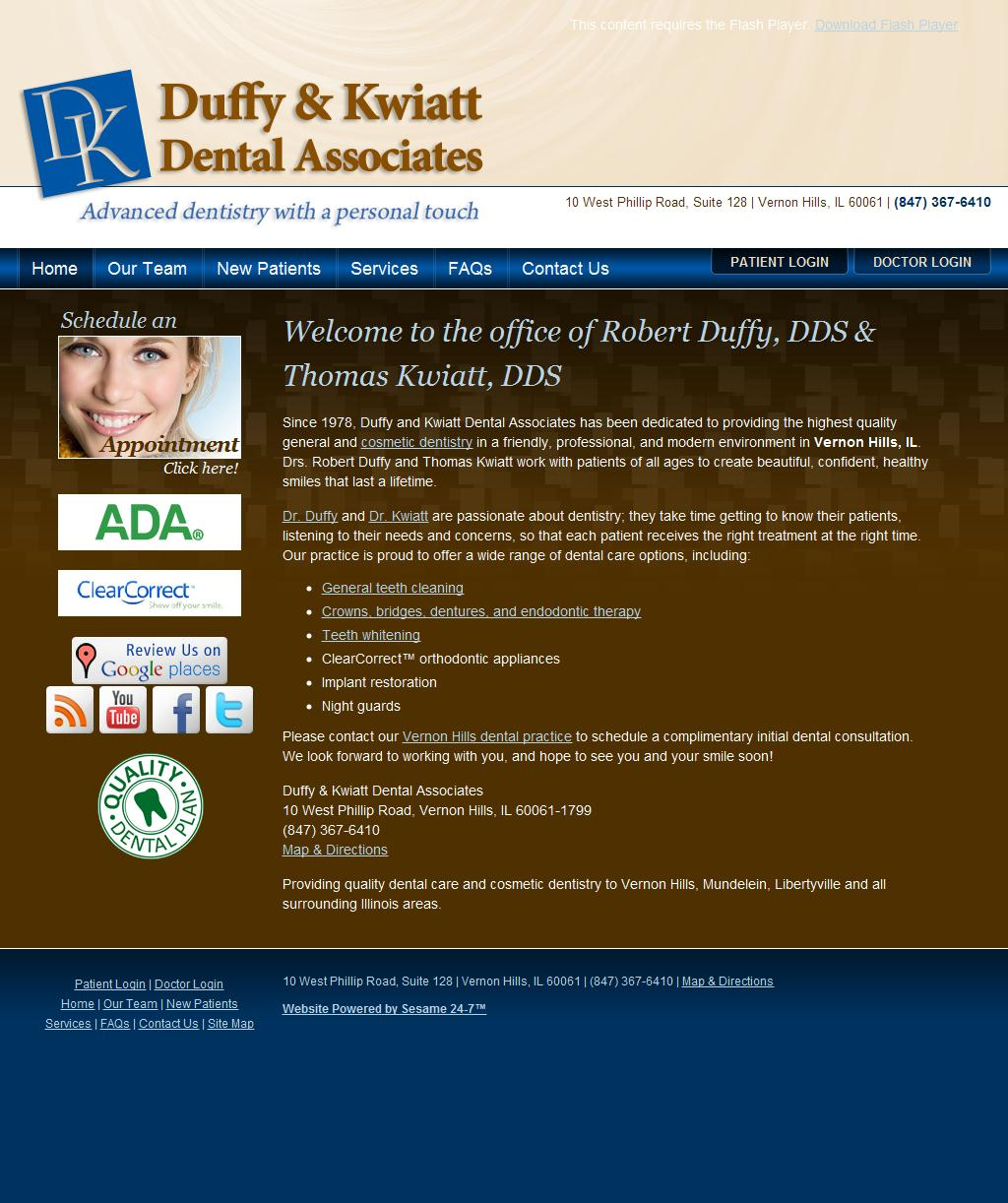 Dentist Vernon Hills IL | Vernon Hills Dentist | Duffy & Kwiatt Dental Associates