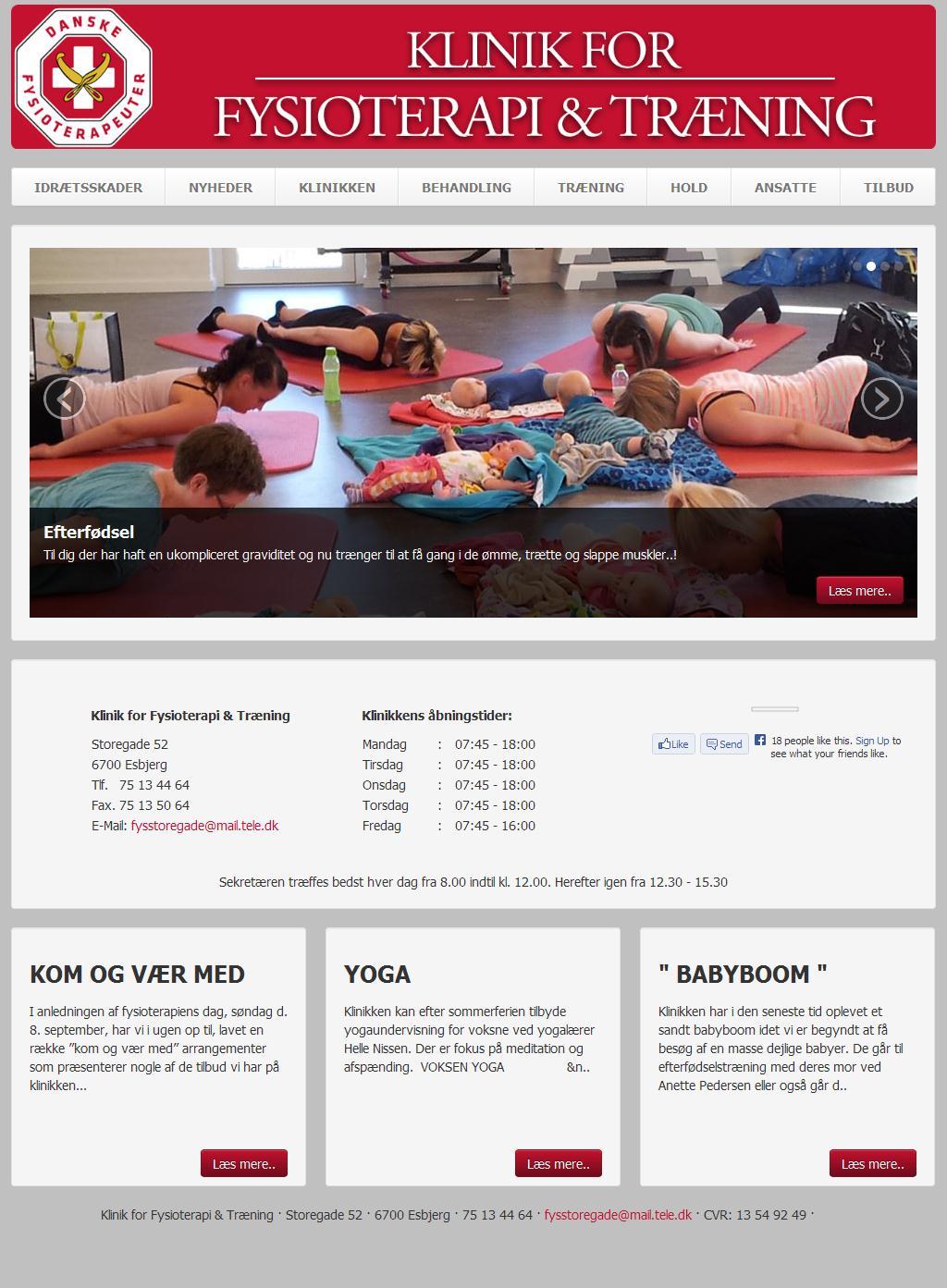 Klinik for Fysioterapi & Træning