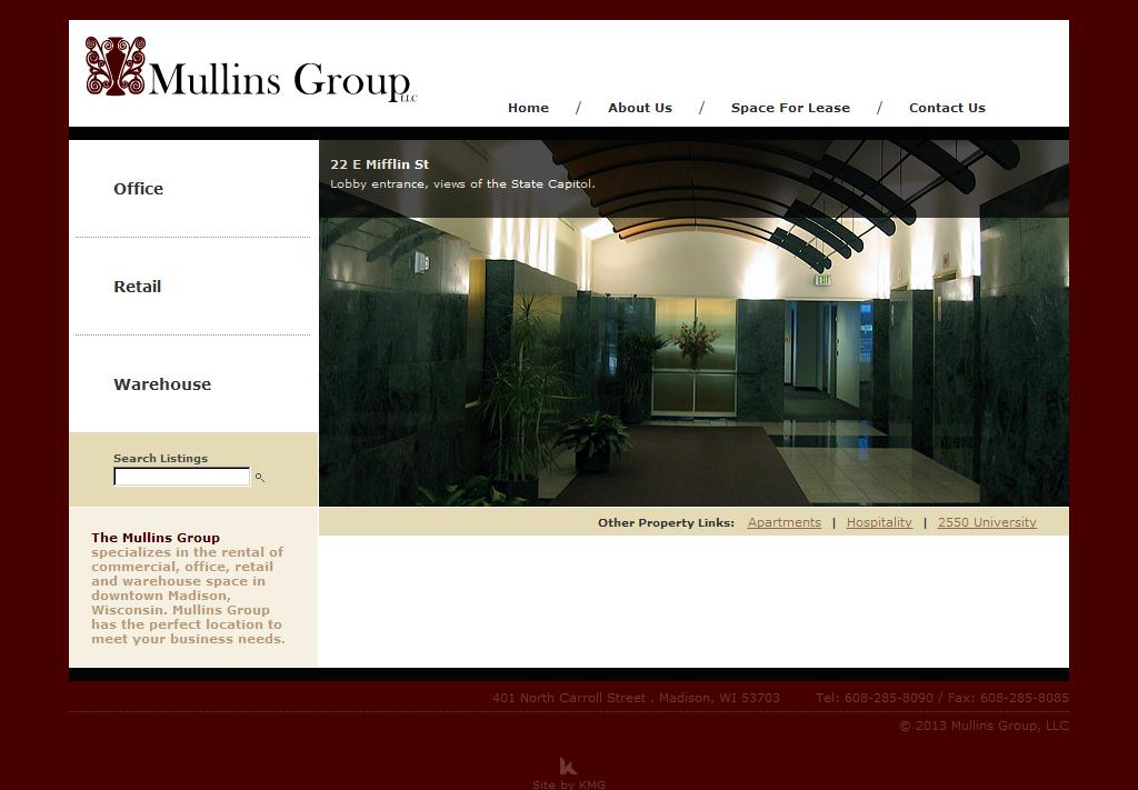 Mullins Group - Madison, WI Commercial Space and Downtown Aparments