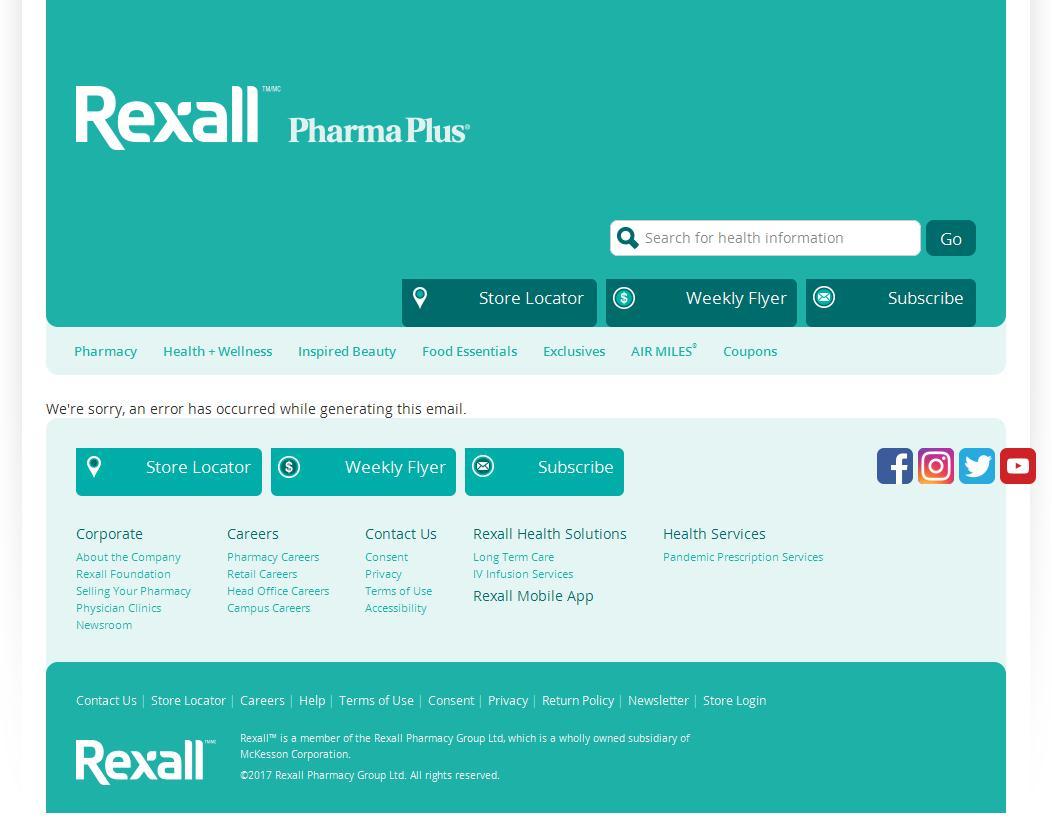 Rexall.ca  | Home
