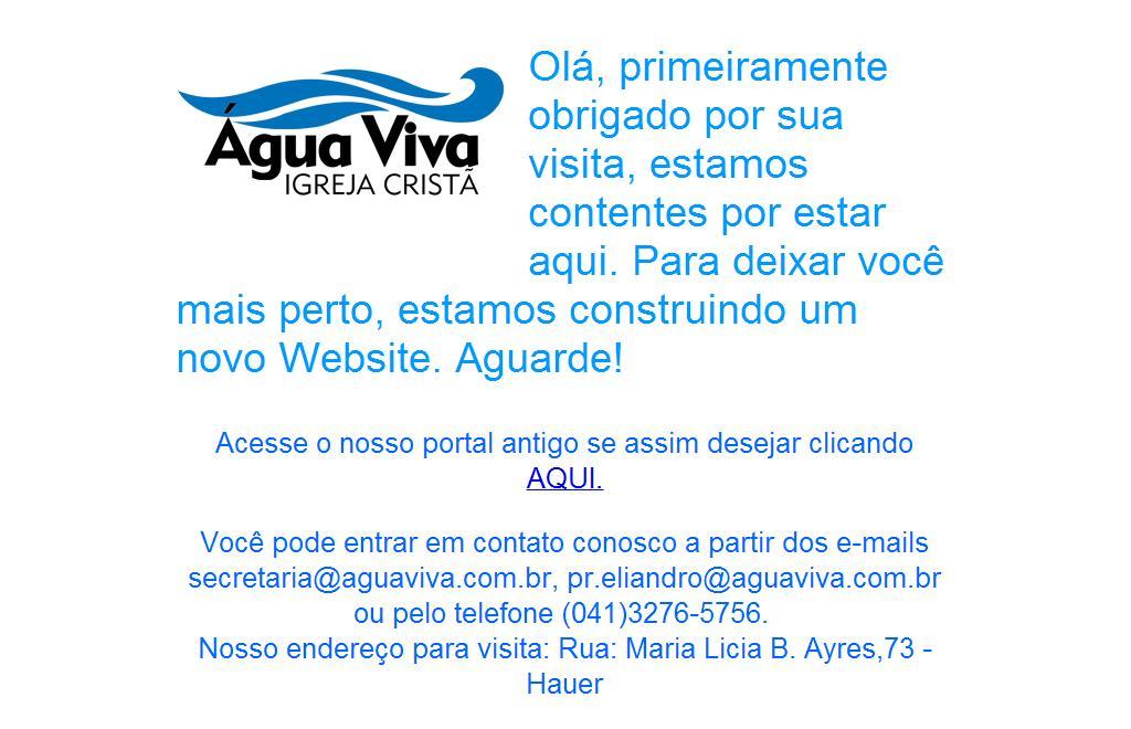 Igreja Cristã Água Viva