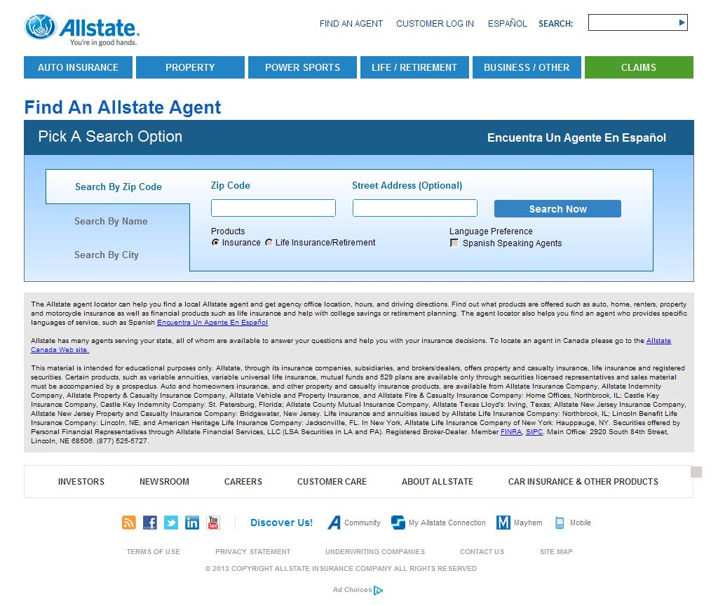 allstate insurance company effective goal setting This document presents a discussion about the allstate goal setting process with goals that are vague or poorly thought out, it is easy to work hard to achieve an outcome that you dislike once you get it.
