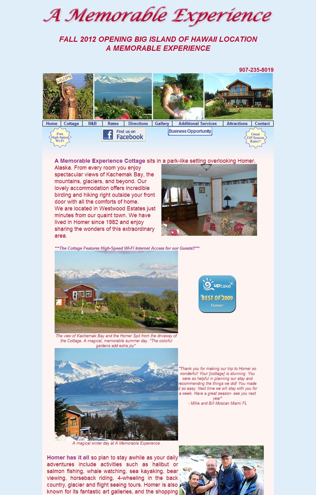 Bed and Breakfast, Cottage, Full Wedding and Catering Services