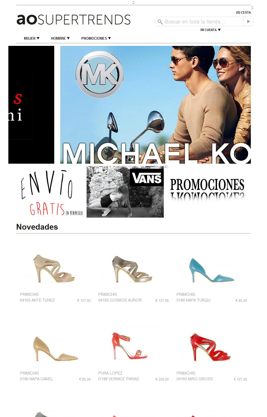 Sites Nosis OrtizTrade Zapateria Antonio Web srtdhQ