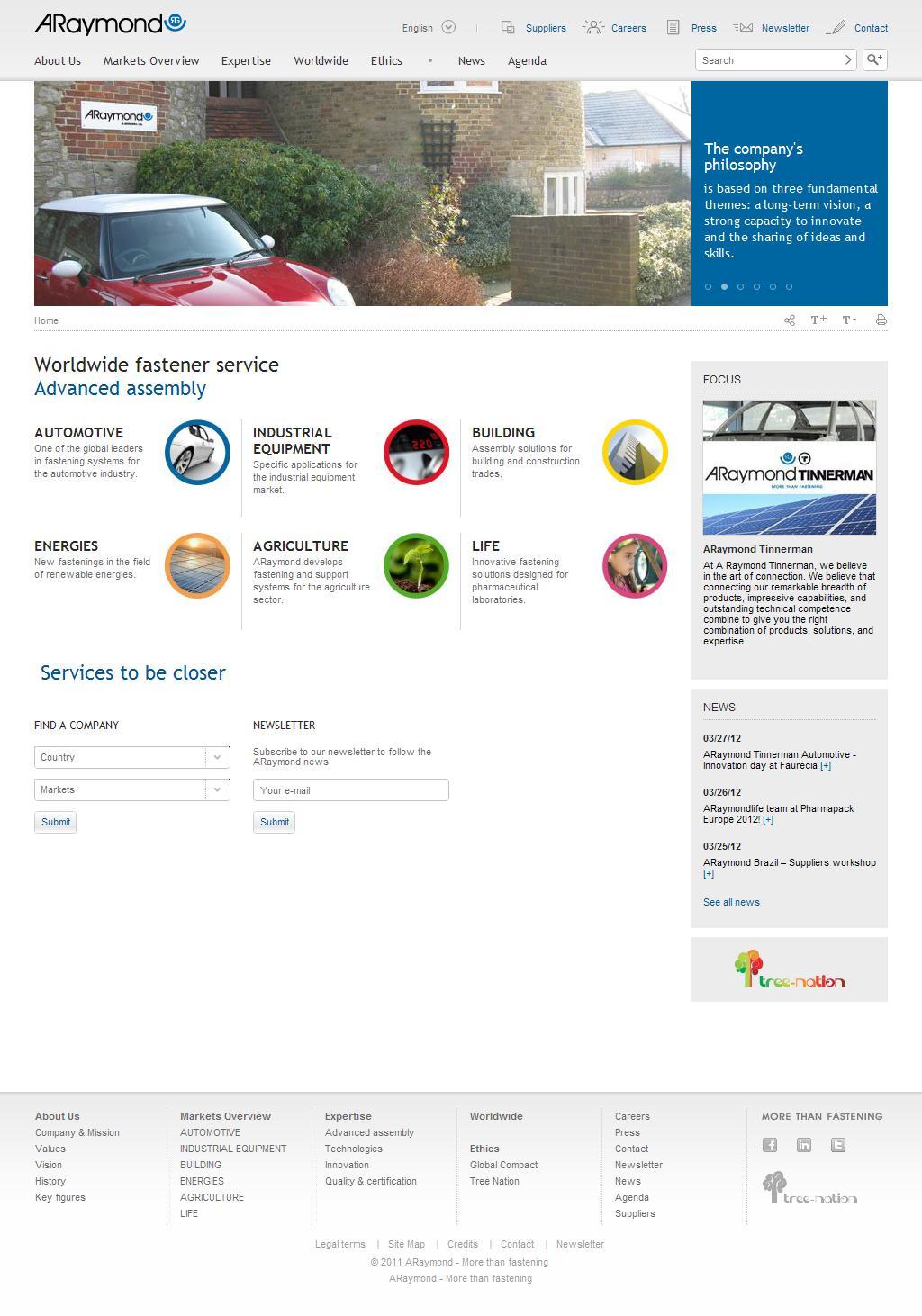 ARaymond, industrial supplier of quick fastener systems | ARaymond