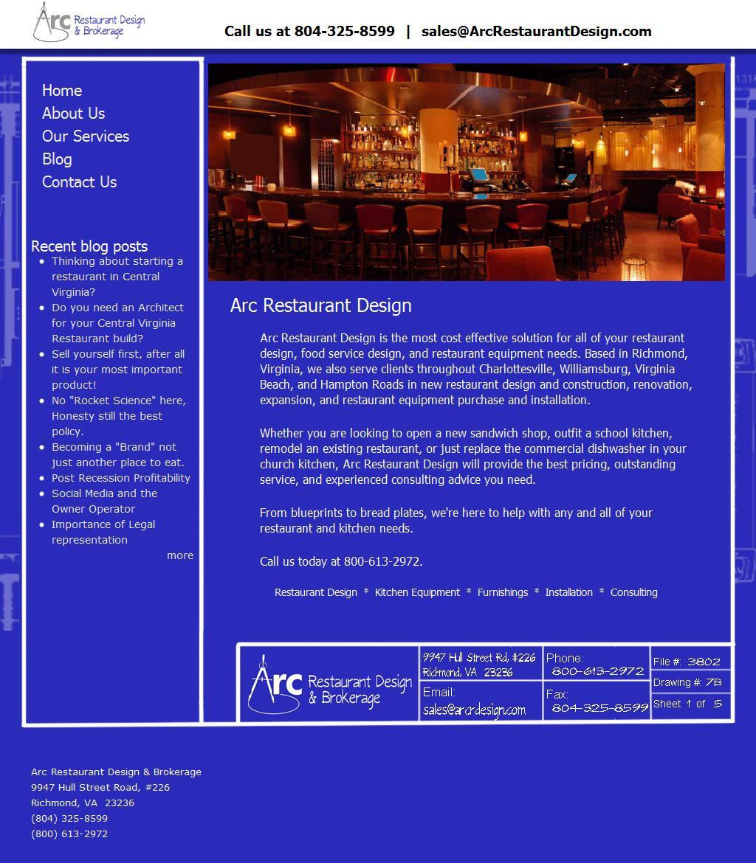 Restaurant Design and Restaurant Equipment | Arc Restaurant Design