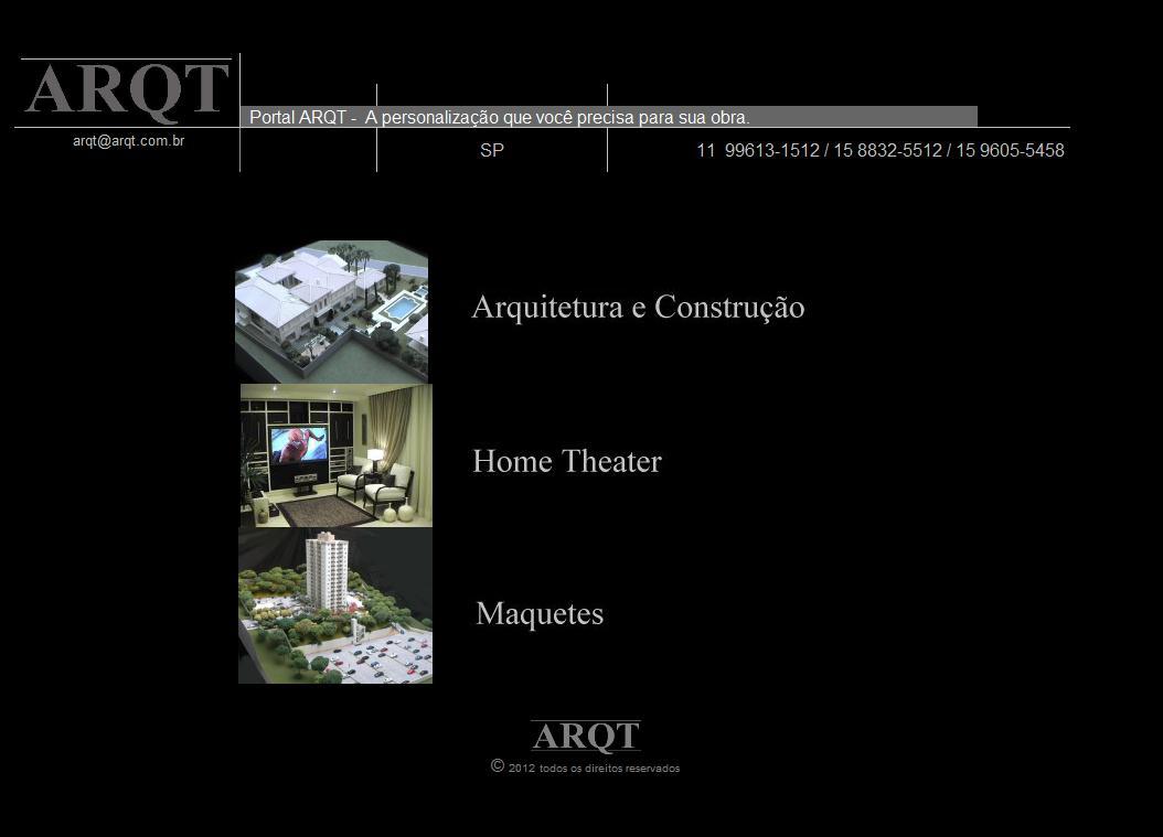 Portal de Arquitetura ARQT