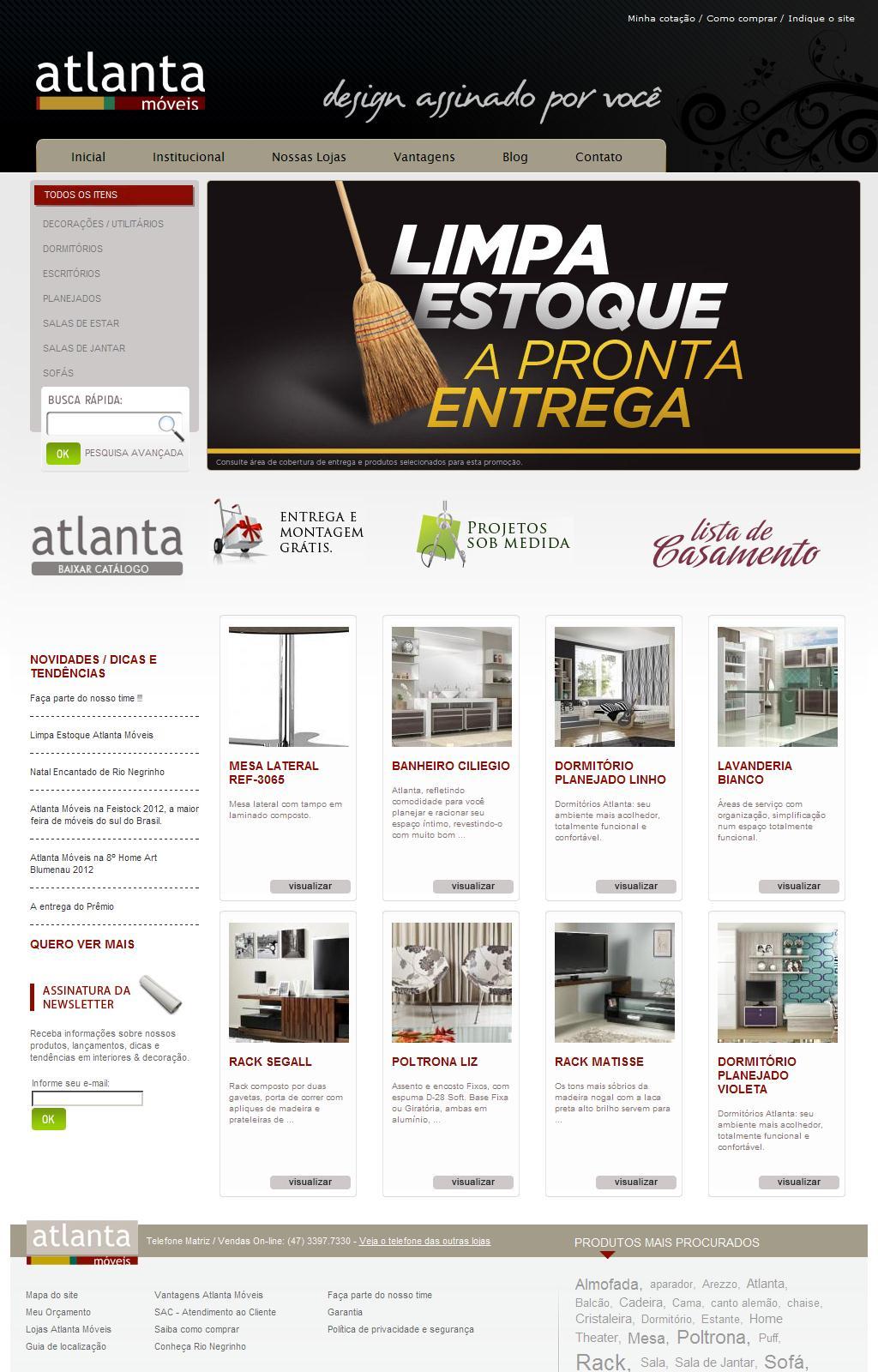 Atlanta Móveis - Design Assinado por Você
