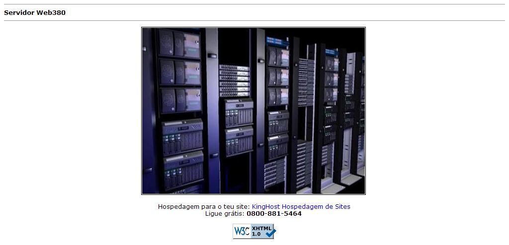 Servidor Web380