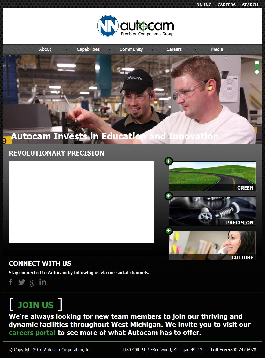 Autocam Automotive | Perfecting Precision Worldwide