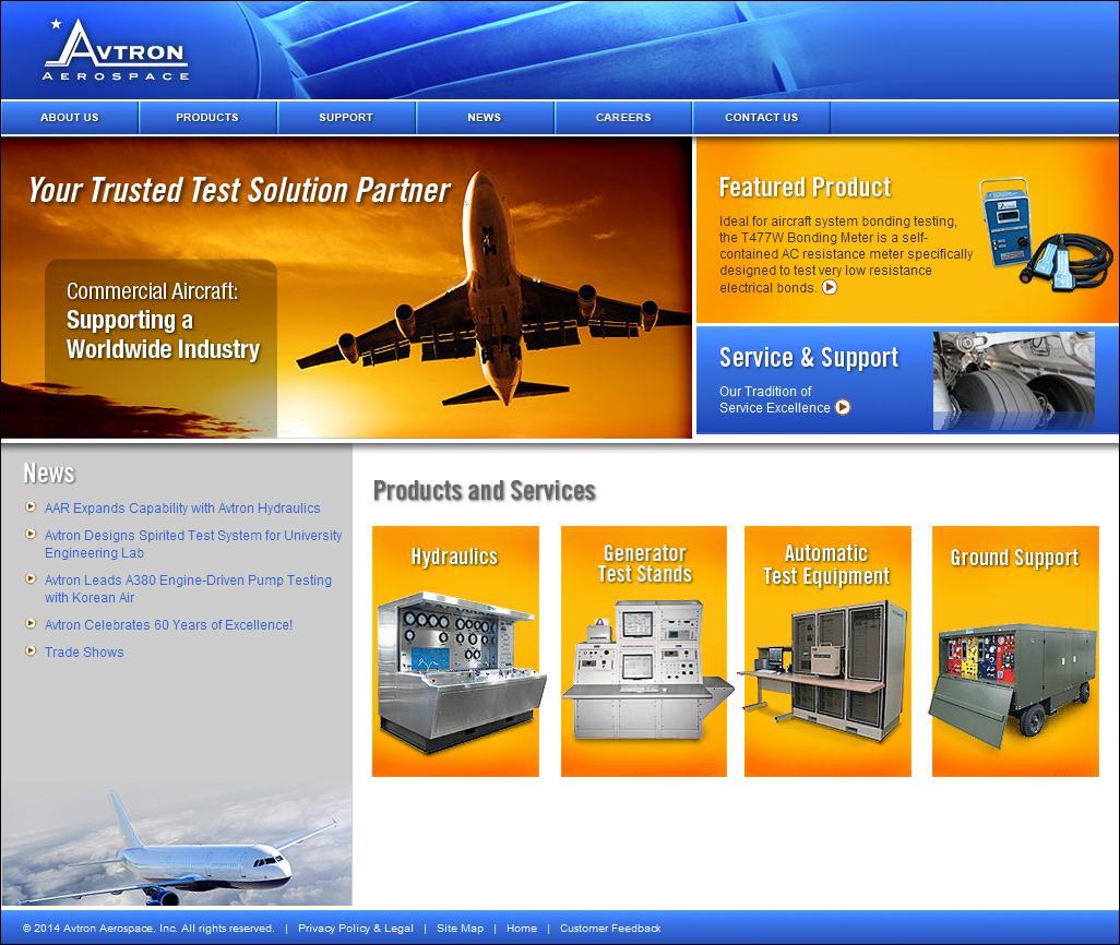 Aircraft, Hydraulic & Electronic Test Equipment - Avtron Aerospace