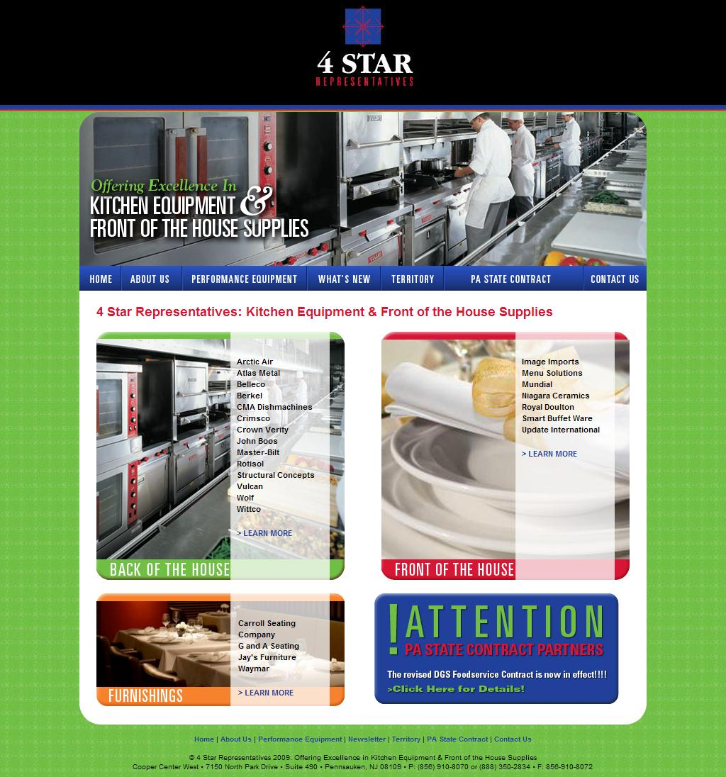 4 Star Representatives: Marketing Agents For The Food Service Equipment Industry