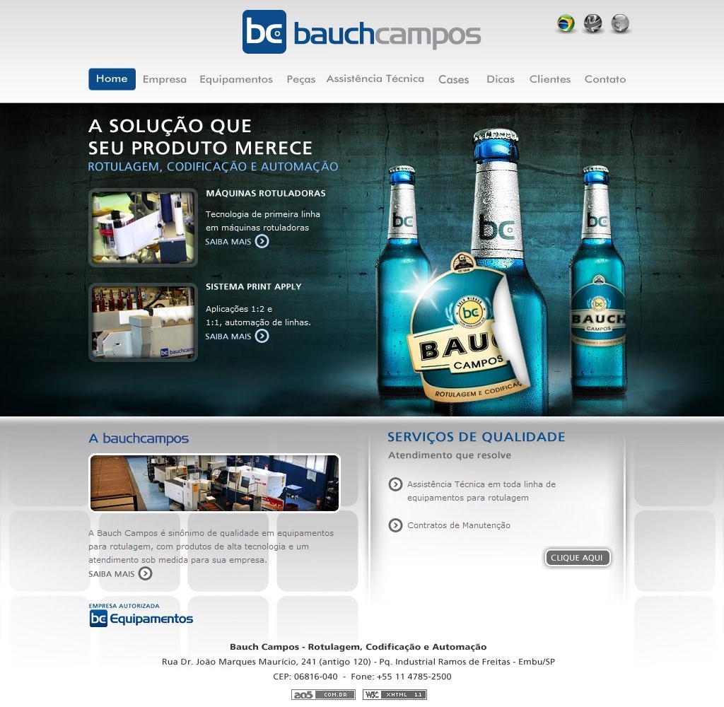 Máquinas Rotuladoras | Rotulagem e Etiquetadoras Bauch Campos