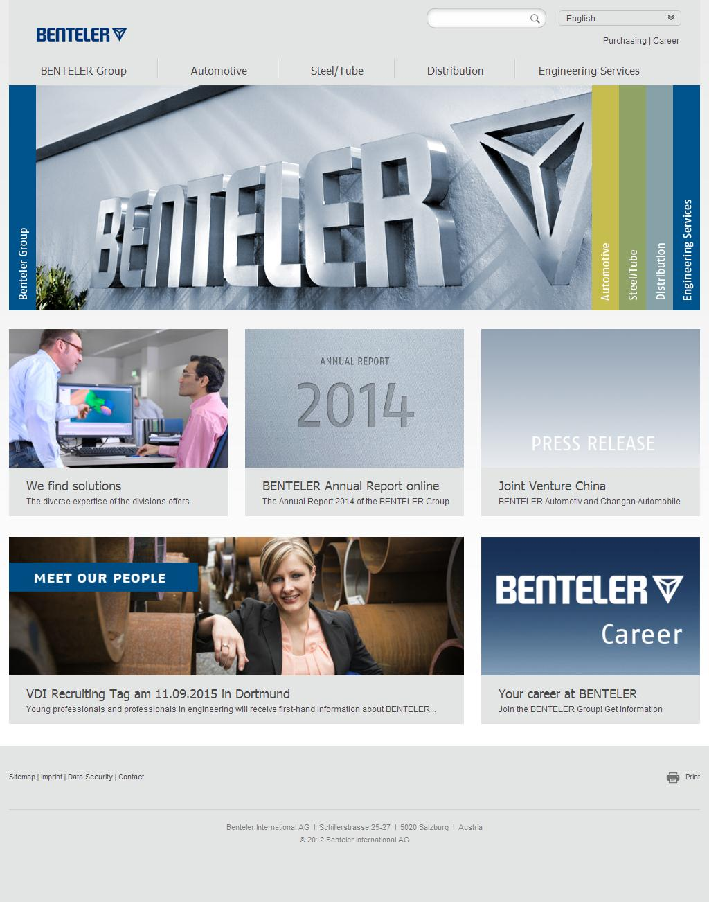 Benteler International AG: Home - Benteler International AG