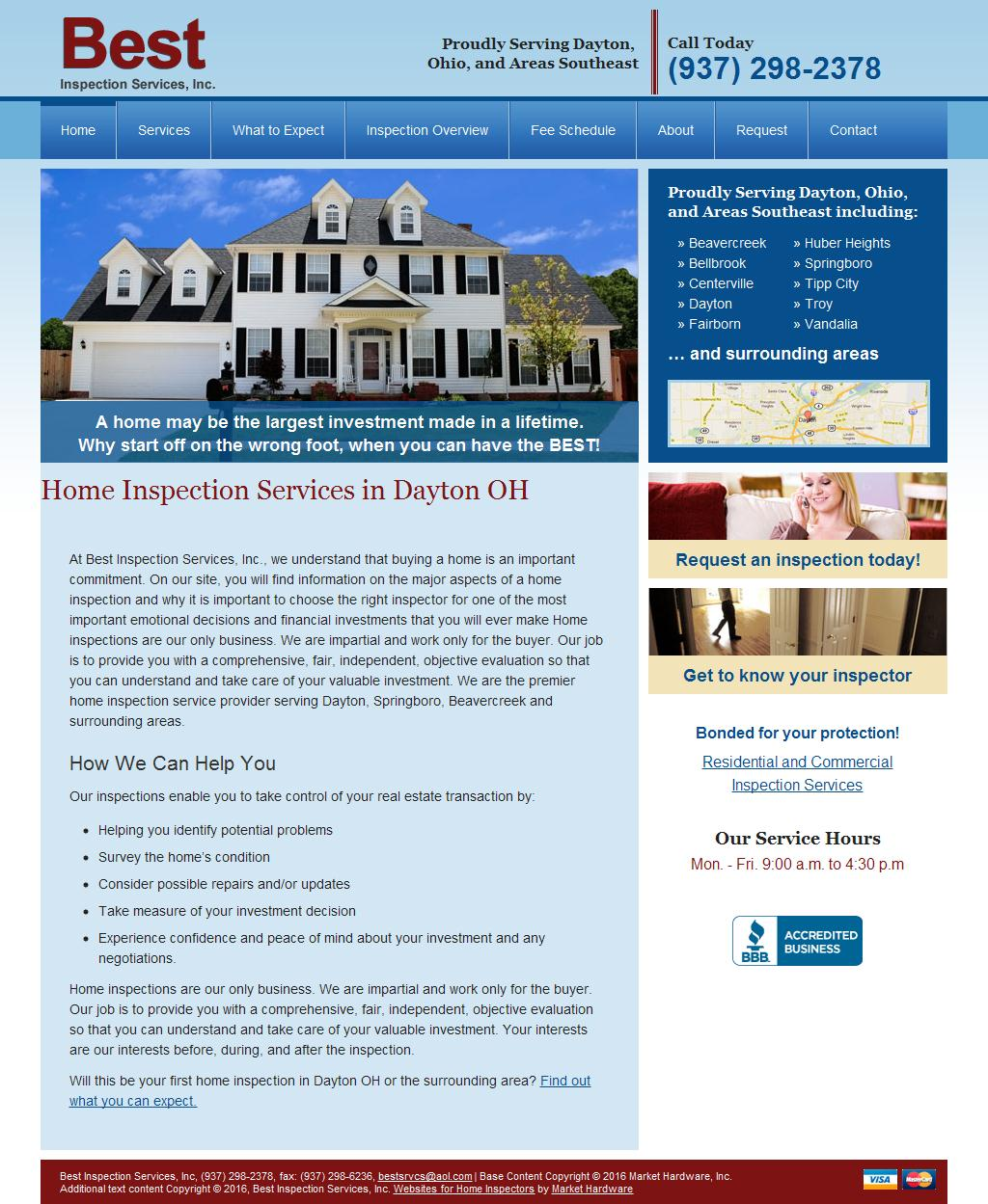 Home Inspection, Commercial Property Inspection   Dayton, OH