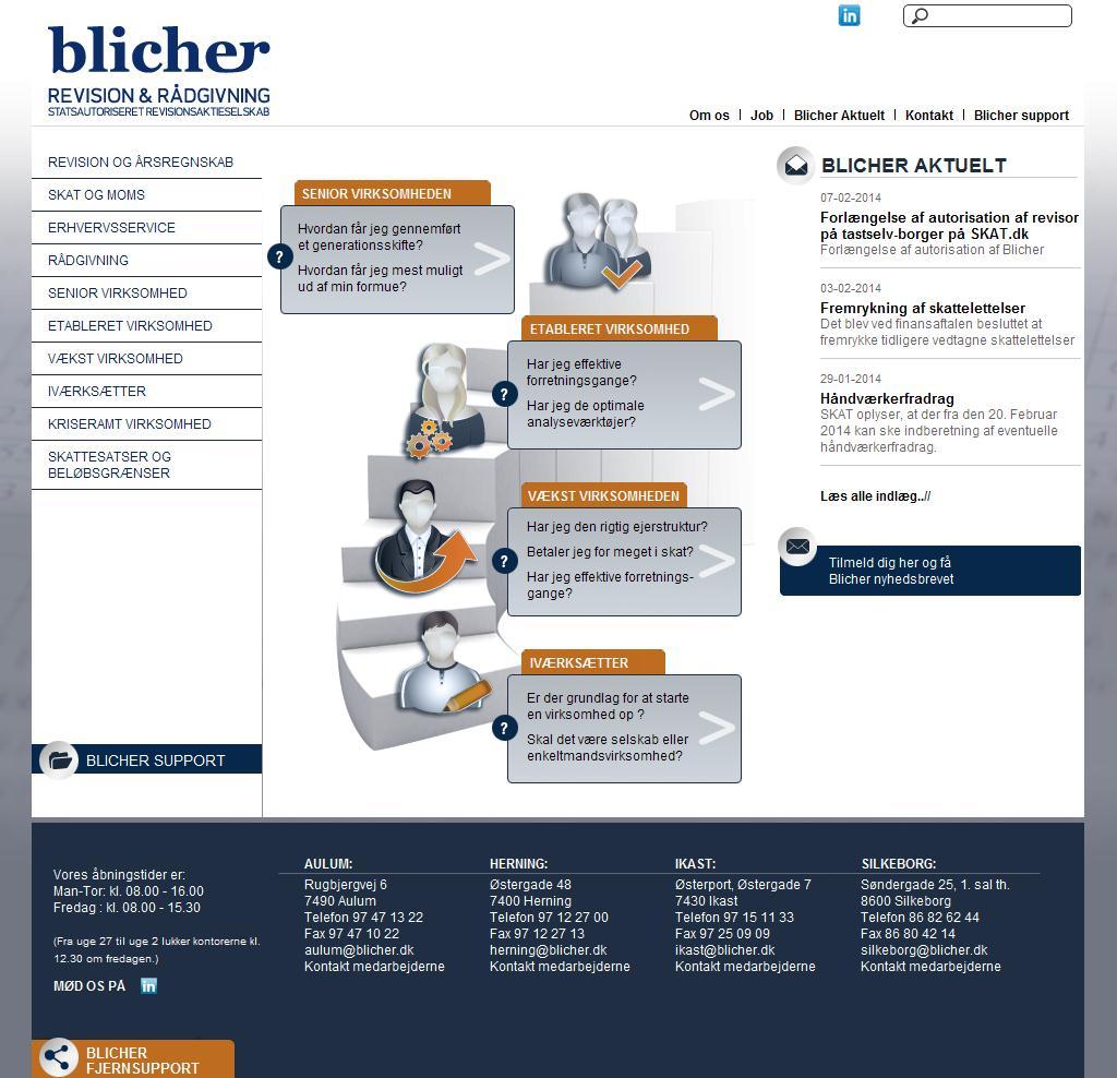 Blicher Revision & Rådgivning, Statsautoriseret Revisor, Herning, Ikast, Aulum, Silkeborg