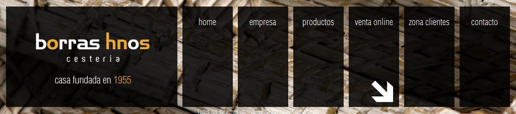 CESTAS MIMBRE - BAULES - NAVIDAD - CESTAS - BANDEJAS - CESTOS - CANASTAS - CAJAS VINO - CAJAS MADERA - VENTA ONLINE - PRODUCTOS MIMBRES - BORRAS HNOS