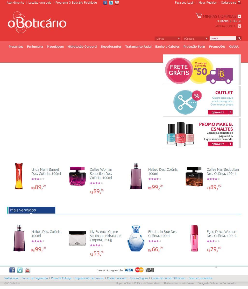 O Boticário - compre perfumes, maquiagens, cosméticos e presentes
