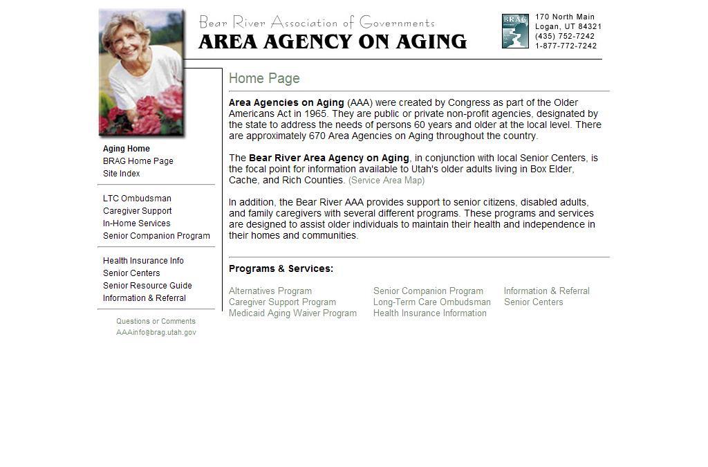 Bear River Area Agency on Aging