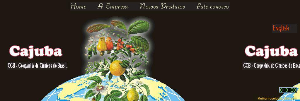 CAJUBA - CCB Companhia de Cítricos do Brasil_______________________________________________________________