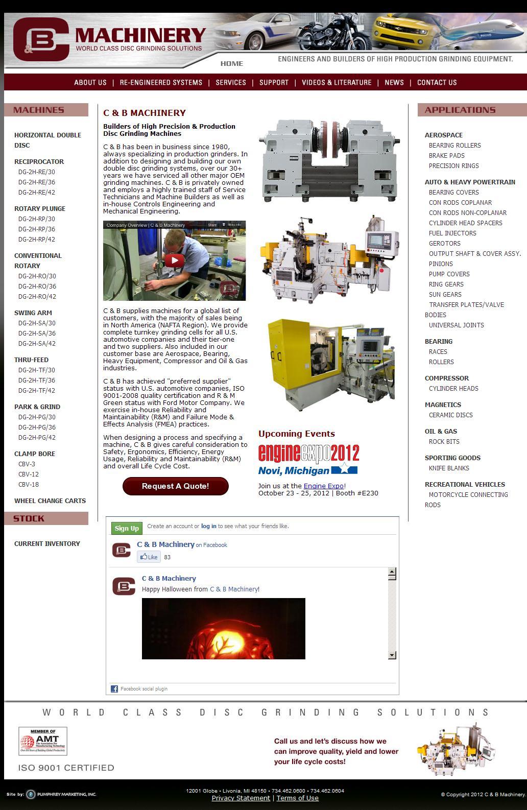 C & B Machinery | World Class Disc Grinding Solutions