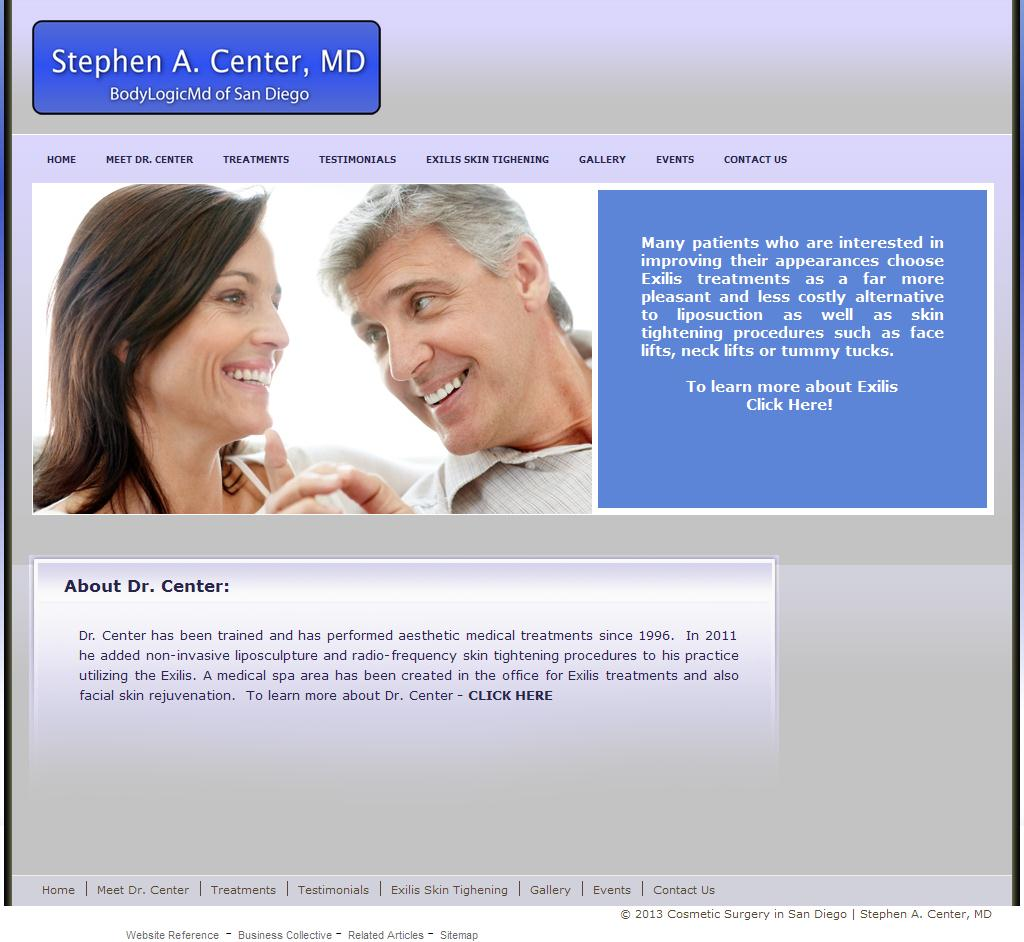 Cosmetic Surgery in San Diego | Stephen A. Center, MD -