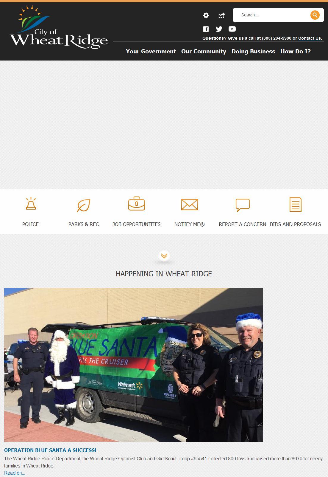 Wheat Ridge, CO - Official Website | Official Website