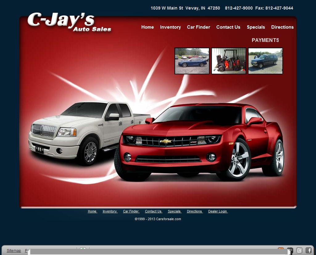 Used Cars Vevay IN Used Cars Dealer Bennington Canaan - C-Jay's Auto Sales