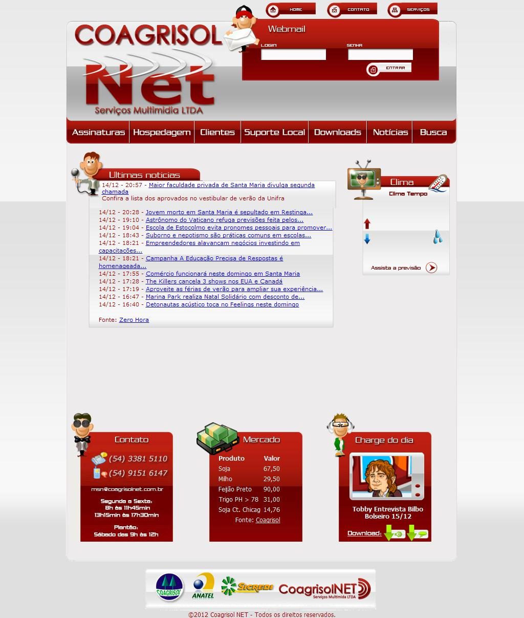 Coagrisol NET Serviços Multimídia LTDA