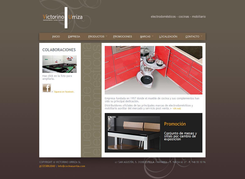 Sitios web de MUEBLES DE COCINA VICTORINO URRIZA | Trade Nosis