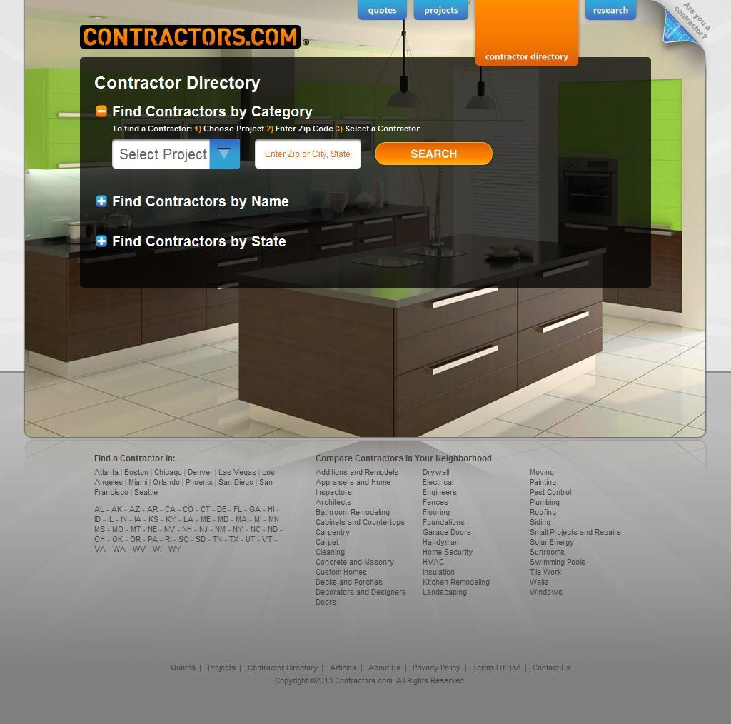 Contractors.com | The Official Contractor Network™ | Find a Contractor