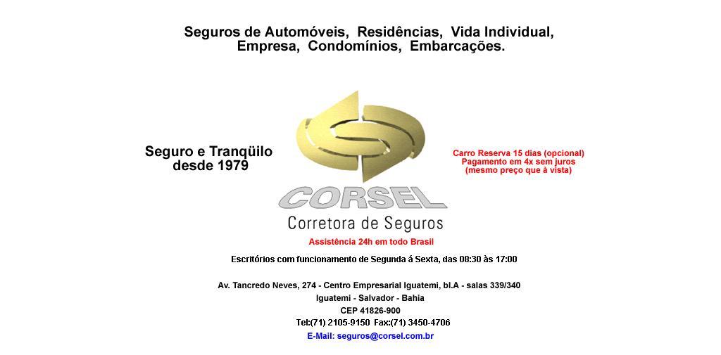 Corsel Corretora de Seguros Ltda -