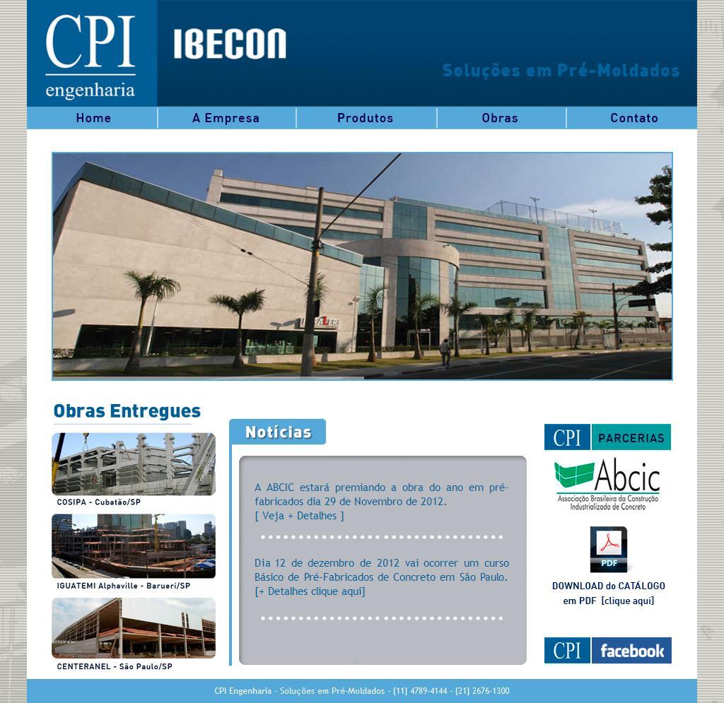 CPI Engenharia - Soluções em Pré-Moldados