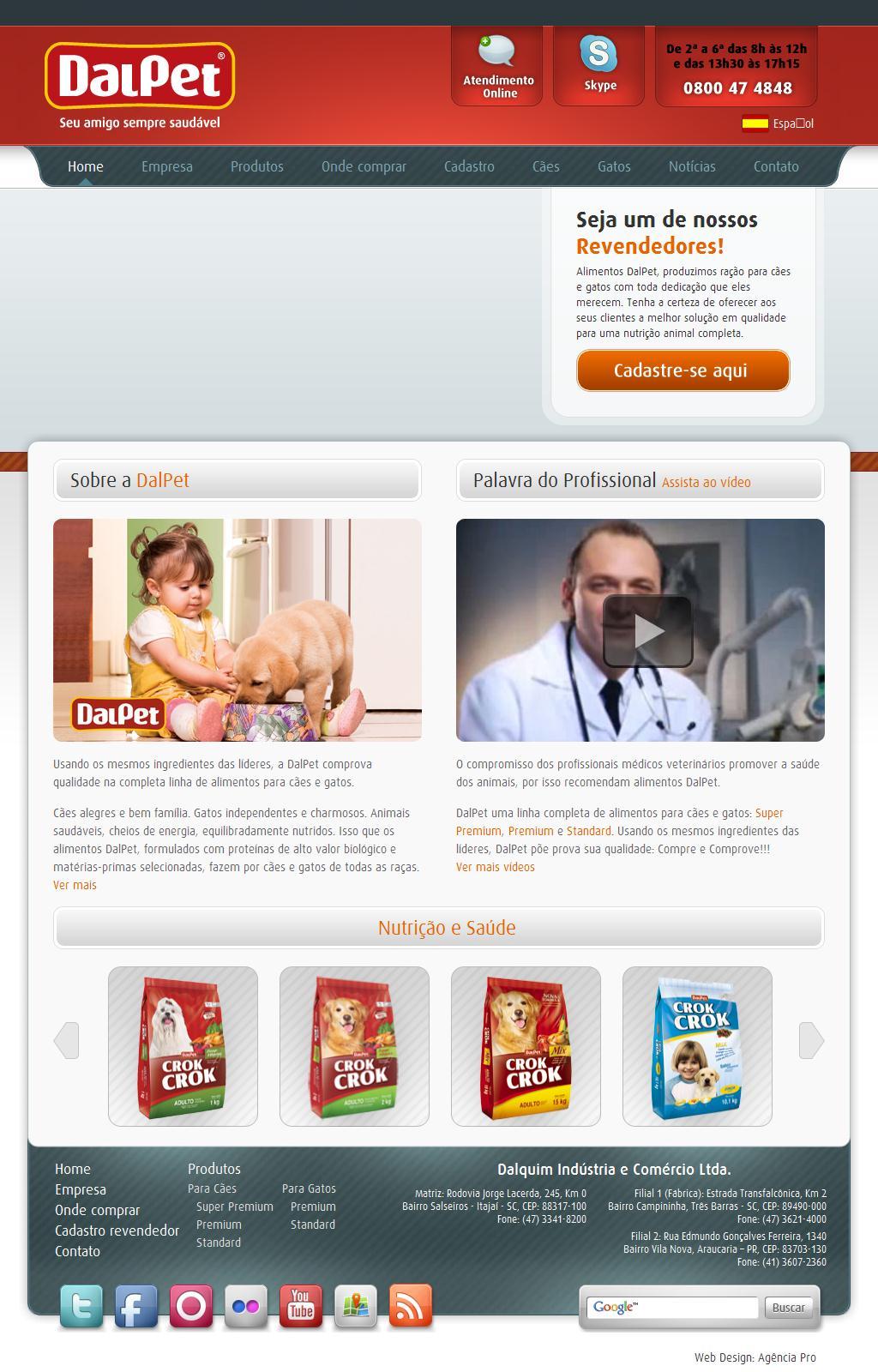 Alimentos DalPet • Ração para Cães e Gatos