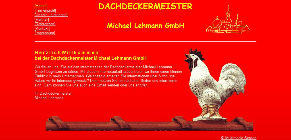 Dachdeckermeister M. Lehmann, Fachbetrieb für Dächer, Fassaden und Abdichtungen