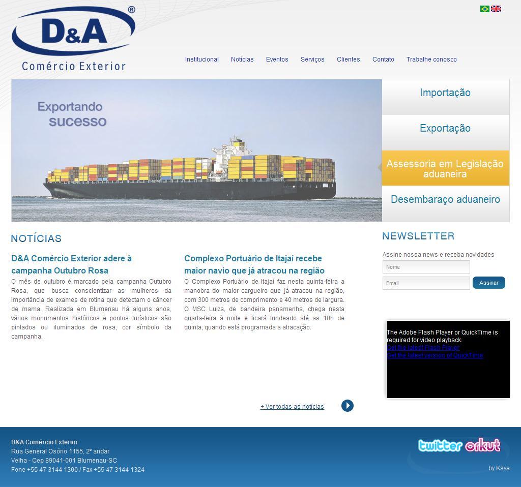 D&A Comércio Exterior