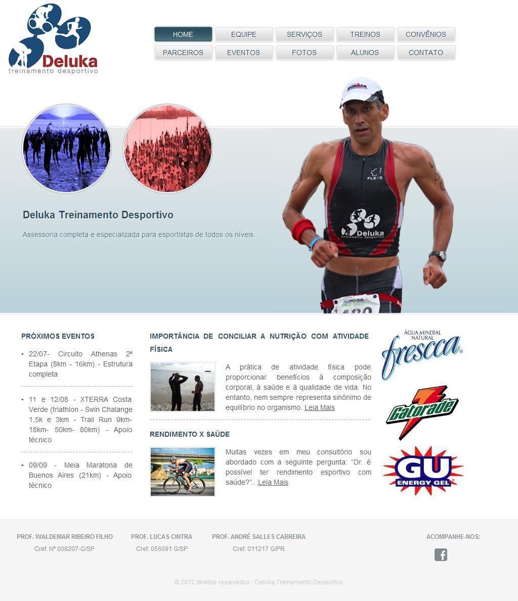 Websites Of Deluka Treinamento Desportivo Ltda Trade Nosis