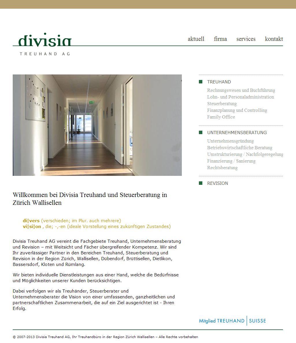 Treuhand und Steuerberatung in Zürich Wallisellen [Home]