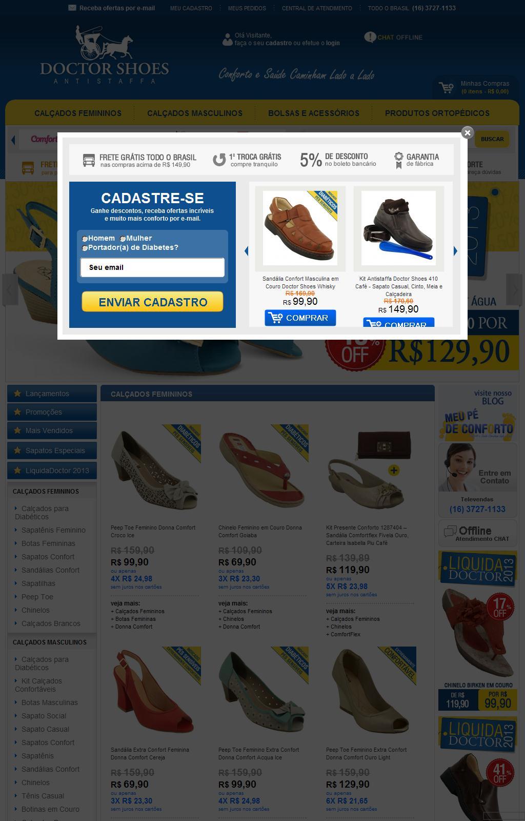 Loja Online de Calçados Confortáveis | Doctor Shoes