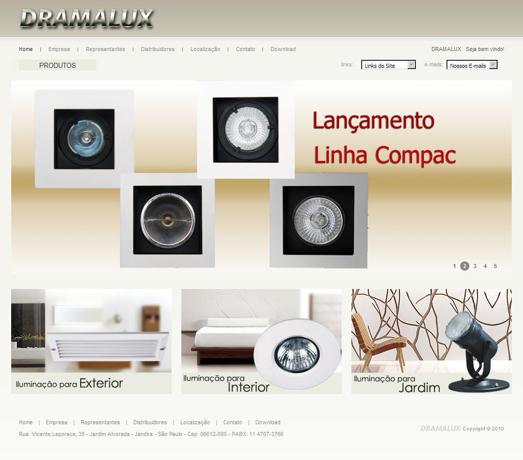 Dramalux Industria e Comércio de Luminárias Ltda - Home