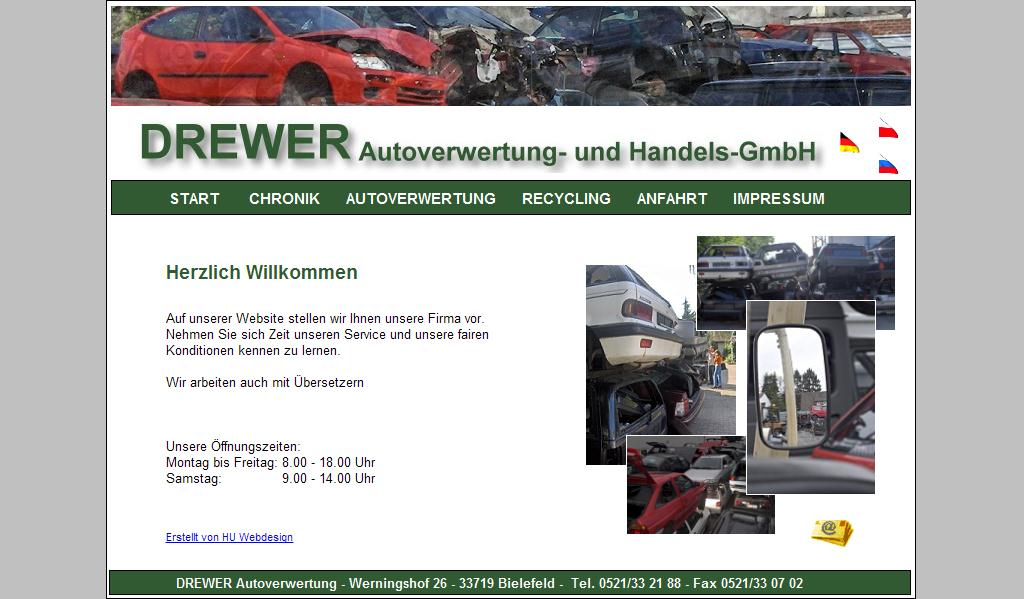 Drewer Autoverwertungs- und Handelsgesellschaft mbH Bielefeld