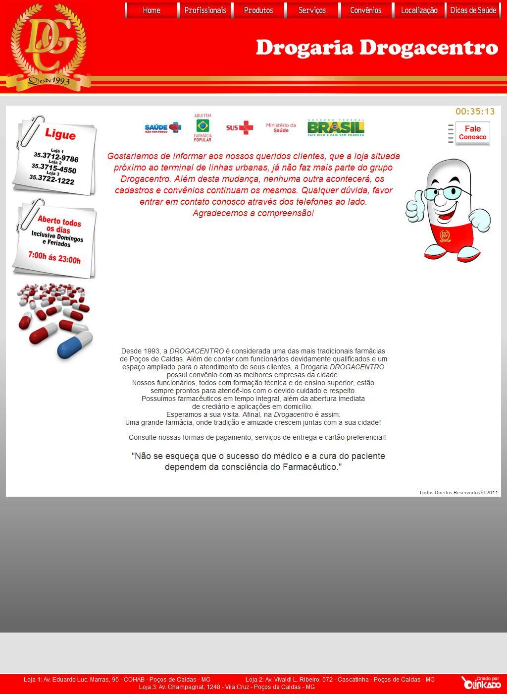 ..: Drogaria Drogacentro :..