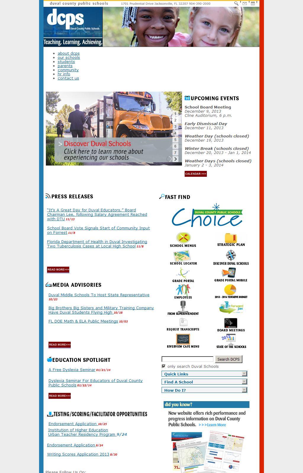 Duval County Public Schools / Homepage