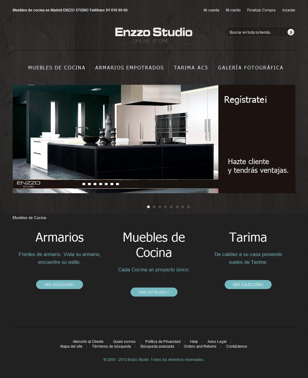 Sitios web de ENZZO STUDIO | Trade Nosis