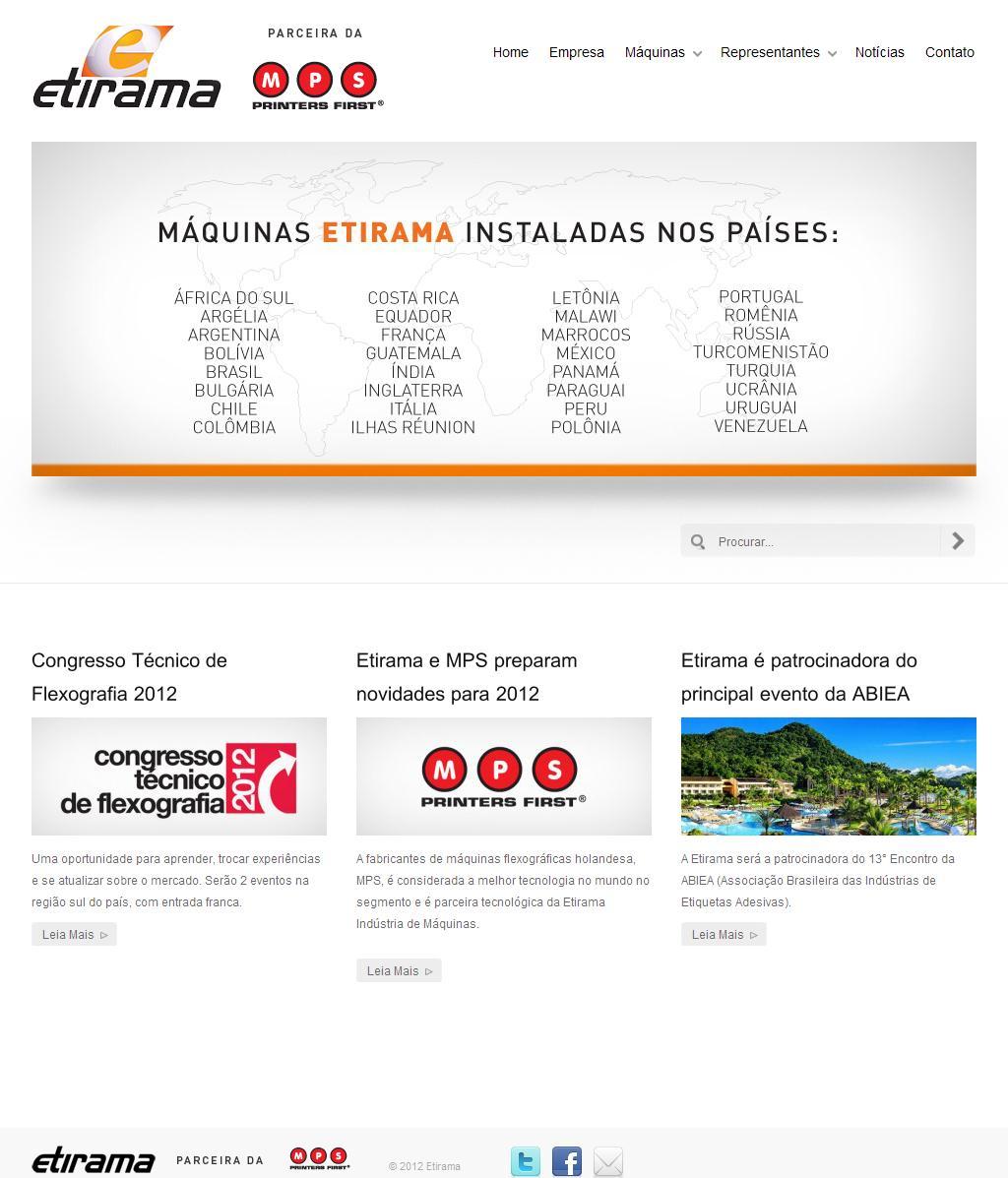 Etirama | Site Oficial Etirama Indústria de Maquinas